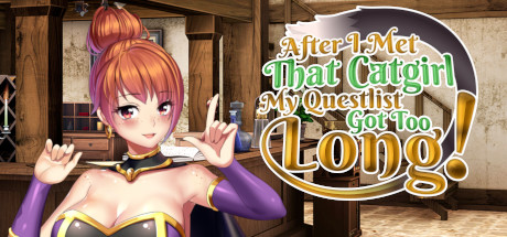 After I met that catgirl my questlist got too long Free Download PC Game